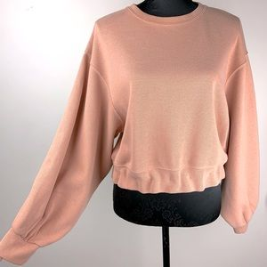 Glassons M blush pink beige jumper sweatshirt top